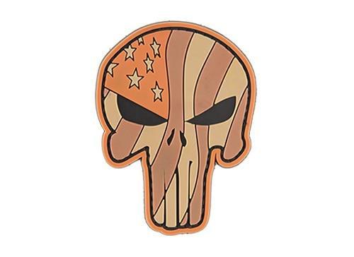 G-Force Waving US Flag Punisher PVC Patch