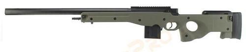 Tokyo Marui L96 AWS Bolt Action Airsoft Sniper Rifle /w Bull Barrel, Olive Drab
