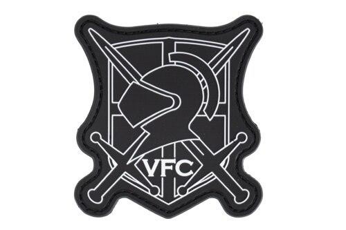 VFC PVC Crest Patch, Black and White