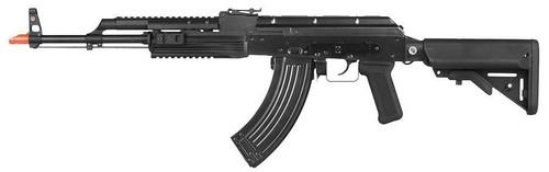 WE-Tech Full Metal AK47 Spec Op Gas Blowback Airsoft Rifle, Black