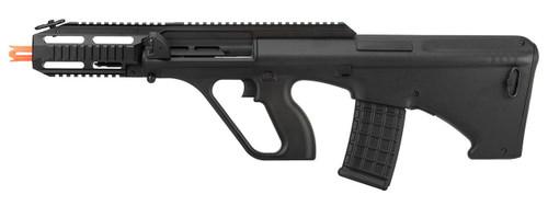 GHK AUG A3 Gas Blowback Airsoft Rifle, Black