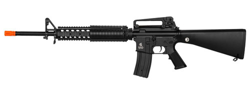 Lancer Tactical LT-22B Free Float M4 AEG Airsoft Rifle, Black