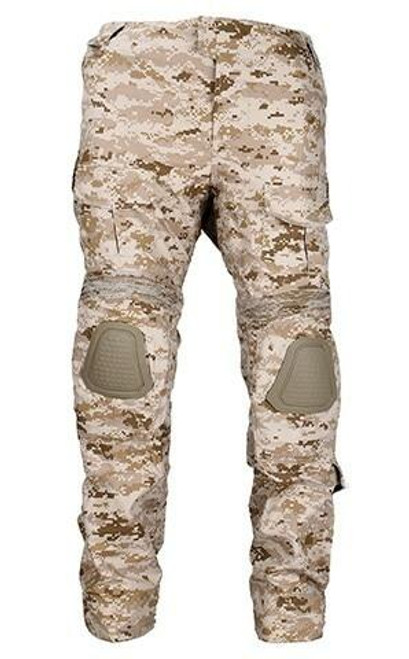 Lancer Tactical Combat Uniform BDU Pants, Digital Desert