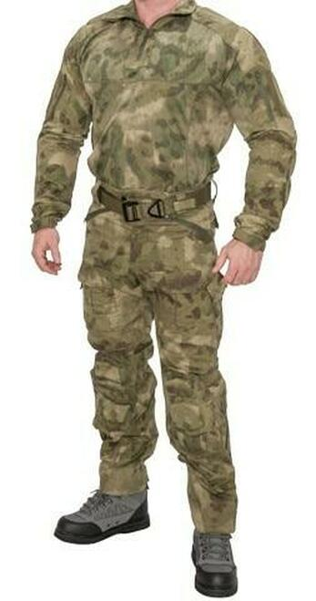 Lancer Tactical Rugged Combat Uniform Set w/ Soft Shell Padding, AT-FG