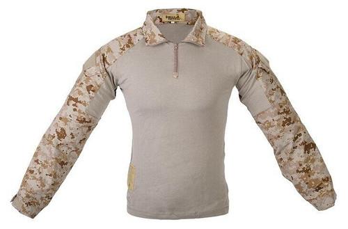 Lancer Tactical Combat Uniform BDU Shirt, Desert Digital