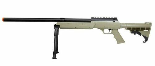 TSD Tactical SD98 Bolt Action Sniper Rifle - Tan