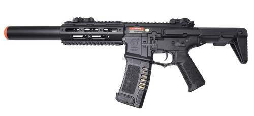 ARES Amoeba 7 COM AAC Honeybadger Style Airsoft Rifle, Black