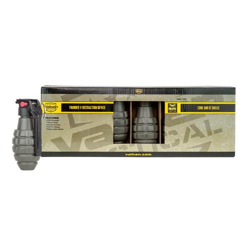 Valken Thunder V Grenade Starter Kit, 12 Pack w/ Core, Pineapple Style