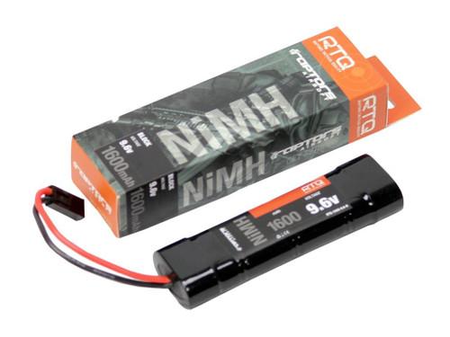 Raptors Airsoft RTQ NiMH 1600mah 9.6v Mini-Brick Battery