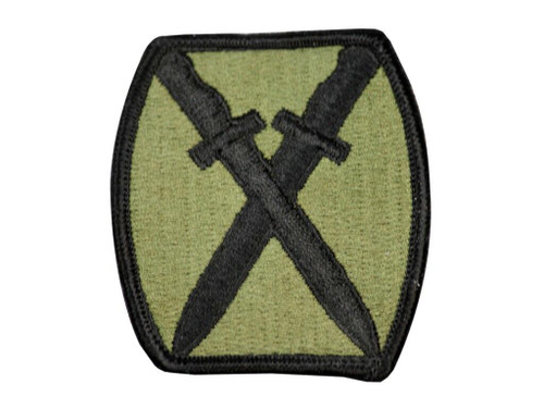 Raptors Tactical 2.5 Crossed Knives ARMY Iron On Patch