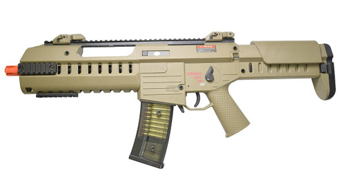 GSG G14 Carbine AEG Blowback Airsoft Rifle, Tan