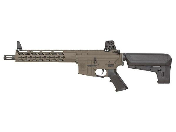 KRYTAC Trident CRB Full Metal AEG Airsoft Rifle, FDE