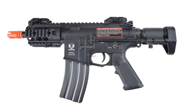 Spartan SRX Series 303 BLACKOUT CQB Airsoft Rifle