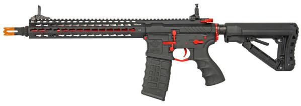 GandG CM16 SRXL 12 Keymod Airsoft DMR AEG - Red and Black Edition