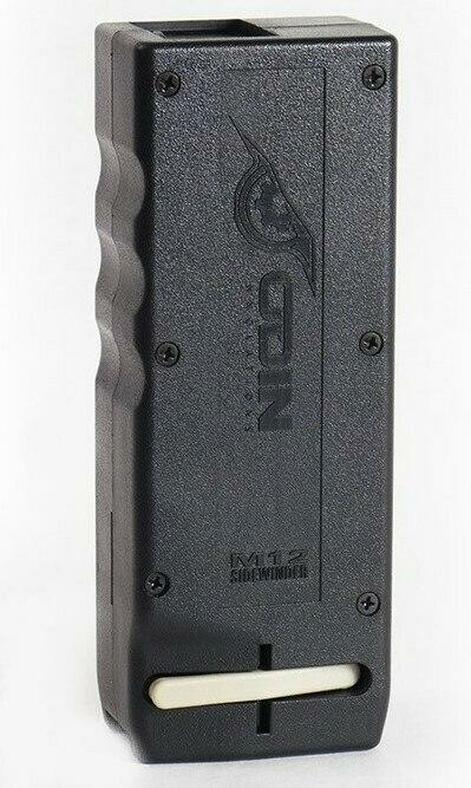 Odin Innovations M12 Sidewinder Airsoft Speed Loader, Black