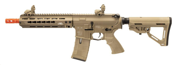 ICS CXP-HOG Keymod M4 CQB Style Metal AEG Airsoft Rifle, Tan