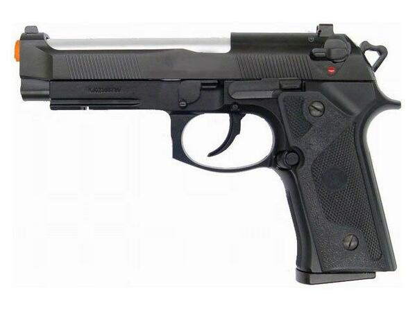 KJW Model-602 M9 Elite Gas/Co2 Blowback Full Metal Airsoft Pistol