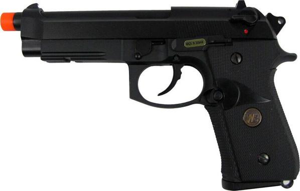 WE MEU M92 Full Metal Semi Auto Gas/CO2 Blowback Pistol