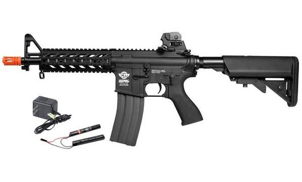 GandG CM16 Raider-S w/ 9.6v Battery and Charger, Black