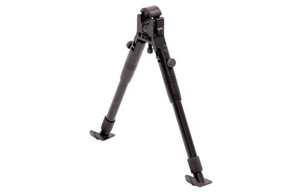 UTG Claw Clamp-on Barrel Bipod, Steel Feet, Adjustable Height