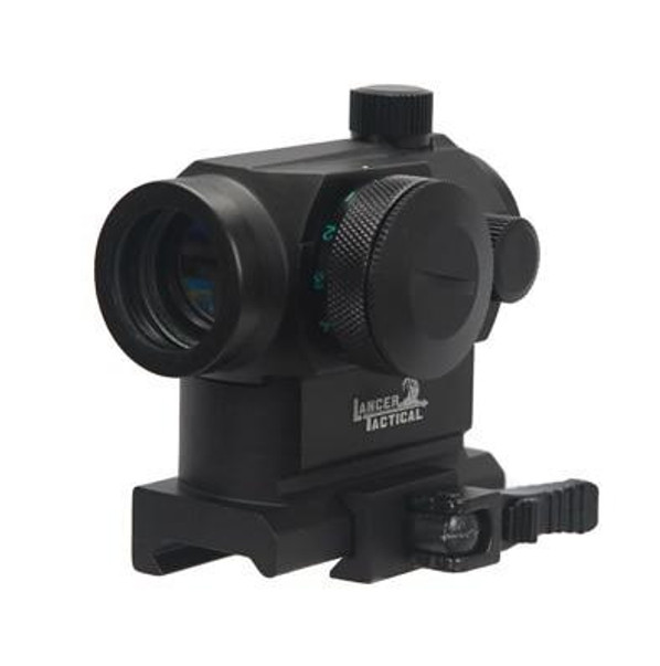 Lancer Tactical CA-418B T1 Style Red/Green Dot Sight with Quick-Release Mount