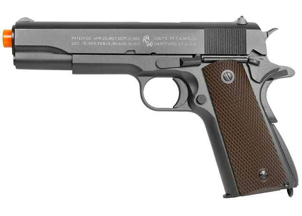 Full Metal Colt 1911 CO2 Blowback Airsoft Pistol by KWC - High Velocity Version