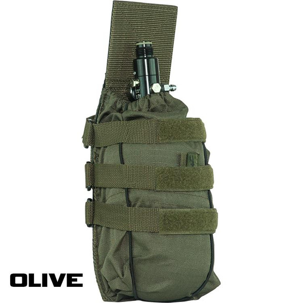 Valken V-TAC HPA/SLP Tank MOLLE Pouch, OD Green