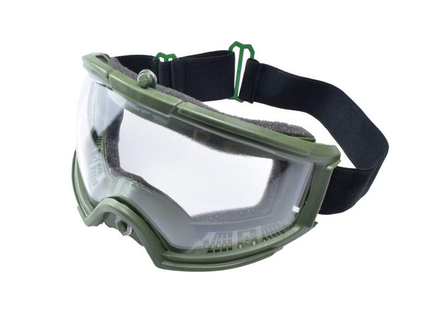 AMP Tactical Airsoft Protective Goggles, Green