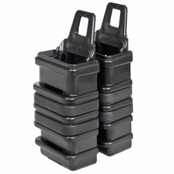 Lancer Tactical Polymer MP7 Magazine Speed-Draw Pouches, Black
