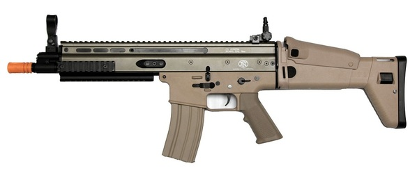 Classic Army FN Herstal Licensed SCAR-L Sportline Tan Airsoft Rifle
