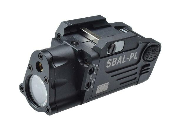 Airsoft Single Beam Aiming Laser Pistol Light SBAL-PL