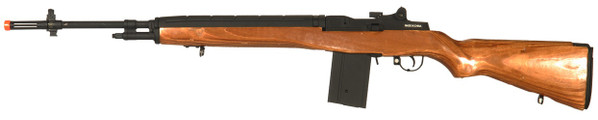 CYMA CM032 M14 AEG Airsoft Rifle, Real Wood Stock
