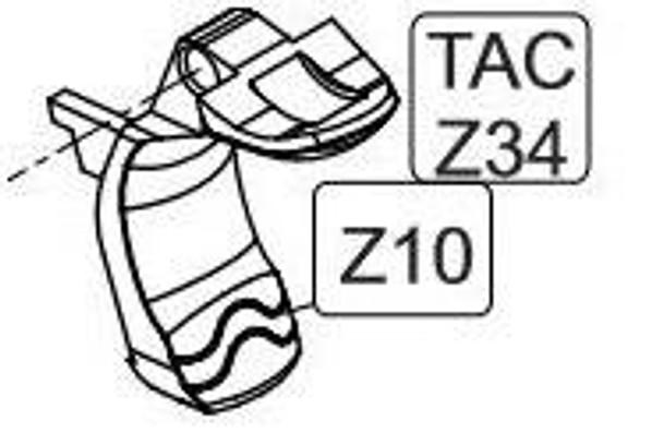 Elite Force/KWC 1911 TAC CO2 Blowback Airsoft Pistol Grip Safety