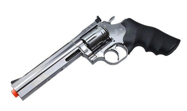Dan Wesson 715 6 Stainless Steel CO2 Airsoft Revolver