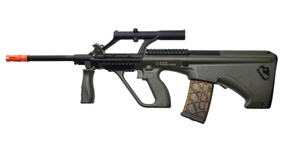 Steyr AUG A1 Proline Bullpup AEG Airsoft Rifle, OD Green