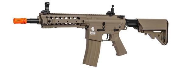Lancer Tactical LT-24T Interceptor M4 Airsoft Rifle AEG, Tan