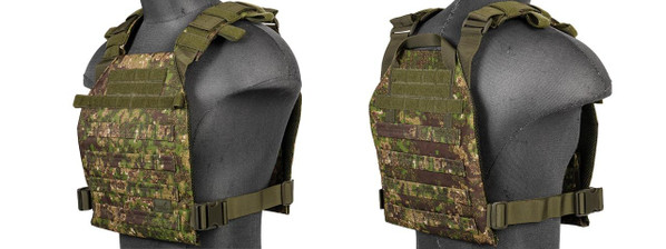 Lancer Tactical CA-883 Lightweight Plate Carrier - PC Greenzone