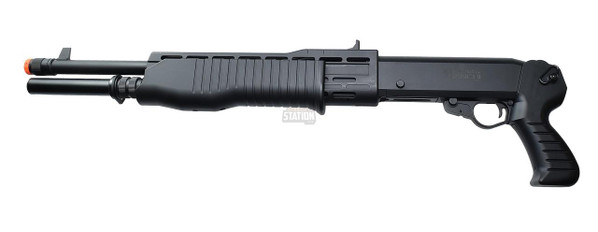 ASG Franchi SPAS-12 Burst Shot Airsoft Shotgun, Black