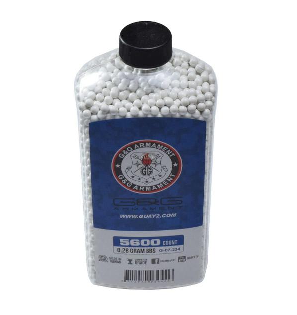 GandG Perfect BBs, 0.28g, 5600 ct Bottle, White