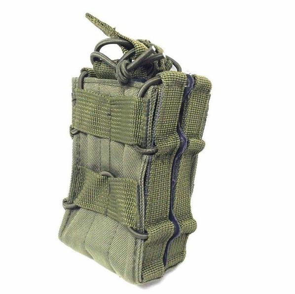 Modular Double Rifle Magazine Pouch, OD Green