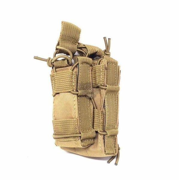 Modular Pistol and Rifle Magazine Pouch, Tan