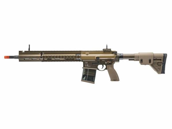 Elite Force HandK G28 FDE Designated Marksman AEG Rifle by VFC