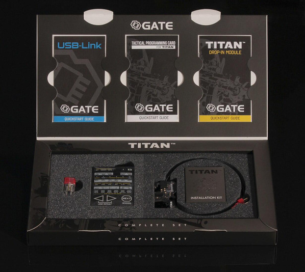 GATE TITAN Complete MOSFET and Programming Kit - Front Wired Version
