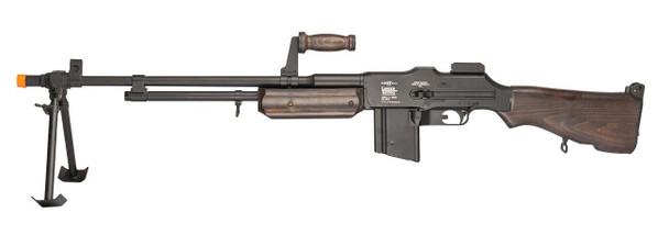 Lancer Tactical M1918 BAR Airsoft Machine Gun, Real Wood Version