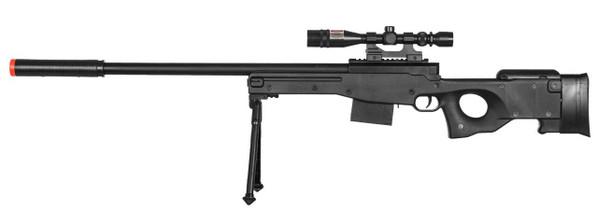 P2703B Plastic L96 Spring Sniper Rifle, Black