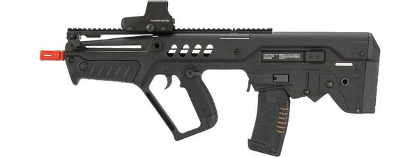 IWI Tavor CTAR Flat Top Elite Airsoft Rifle with FCU MOSFET, Black