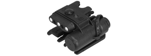 Lancer Tactical Night Evolution Modular Helmet Light, Black