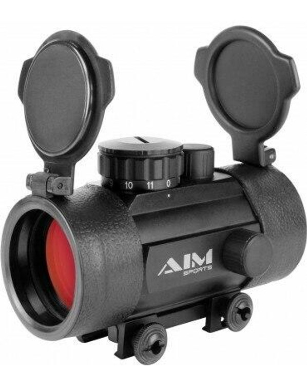 AIM Sports 1x42mm Metal Red Dot Sight