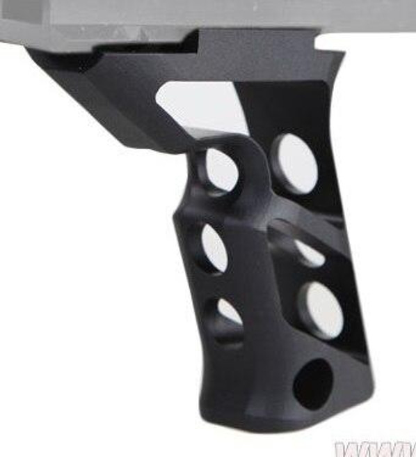 Skeletonized CNC Aluminum Airsoft Foregrip for Picatinny/Weaver/20mm Rails