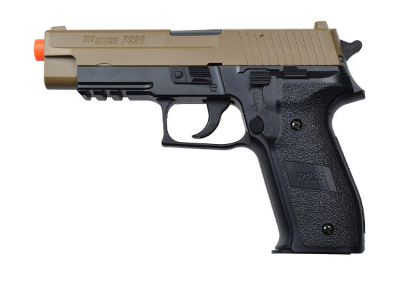 Sig Sauer P226 Spring Pistol, Two-Tone Black and Tan